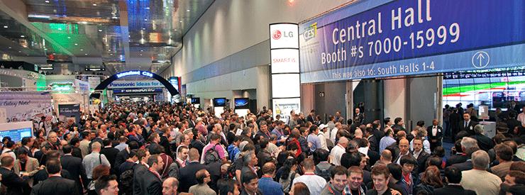 Die Trends auf der CES lösen jedes Jahr Besucher-Anstürme aus