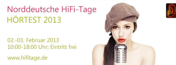 HÖRTEST 2013 – Norddeutsche HiFi-Tage