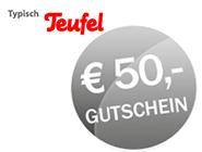 Teufel 50,-€ Rabatt Gutschein