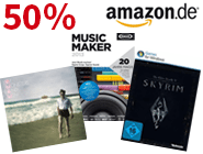 Digital Summer Sale! Bis zu 50% auf mp3s, Software & Games
