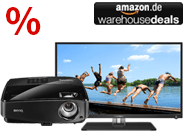 Warehouse Deals: kompakte TVs &amp; preisg&uuml;nstige Beamer bis 349&euro;