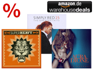 CDs bis 10 Euro bei den Amazon Warehouse Deals