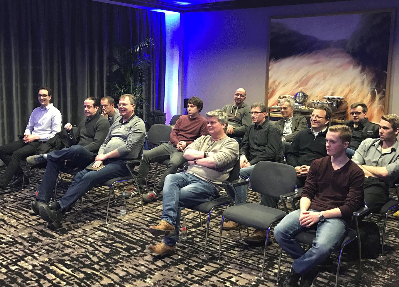 Teilnehmer Samsung-Event