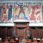 """Der """"Hodler-Saal"""" im Neuen Rathaus"""