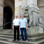 Saxx-Geschäftsführer Benjamin Wilke & Produktmanager Michael Drews