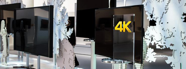 Sony 4K Fernseher auf der IFA 2013 in Berlin