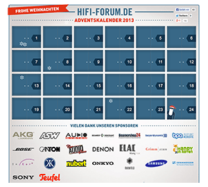 HiFi-Forum Adventskalender 2013