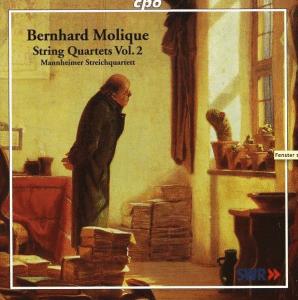 Wilhelm Bernhard Molique (1802–1869) Streichquartette op.18 Nr.3 & op.28