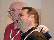 Eric Kingdon von Sony und Michael Schulz von Cine4Home