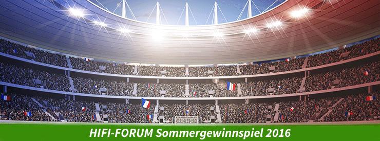 HIFI-FORUM Sommergewinnspiel 2016
