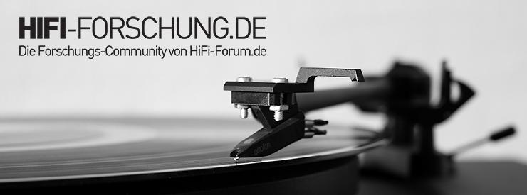HiFi-FORSCHUNG Publikumsfrage Plattenspieler