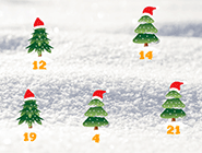 Der Countdown läuft... bald ist 1. Advent!